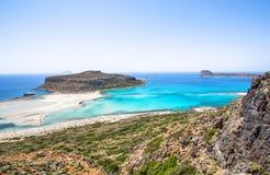 Balos beach Stock Photos