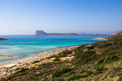 Balos beach Royalty Free Stock Photo