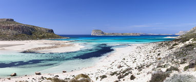 Balos beach (Crete) Royalty Free Stock Images
