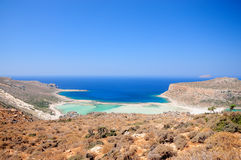Balos beach Crete Stock Photos