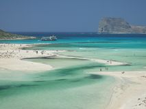 Balos Beach, Crete, Greece Stock Images