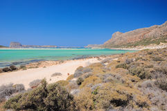 Balos beach, crete, greece Royalty Free Stock Image