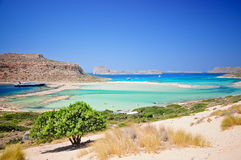 Balos beach, crete, greece Royalty Free Stock Photos
