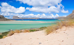 Balos beach, crete, greece Stock Image