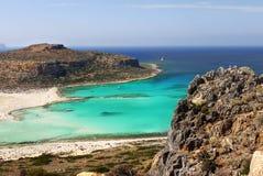 Balos Beach Lagoon, Crete Island, Greece Royalty Free Stock Photo