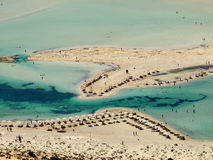 Balos beach in Crete Royalty Free Stock Images