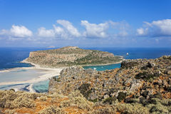 Balos beach at Gramvousa, Crete Royalty Free Stock Photo