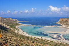 Balos beach at Gramvousa, Crete Stock Photo