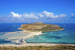 Balos beach at Gramvousa, Crete Stock Images