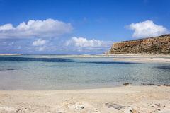 Balos beach at Gramvousa, Crete Stock Photos