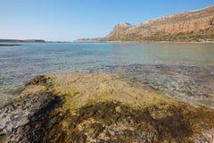 Balos beach in Gramvousa Peninsula. Crete. Greece Royalty Free Stock Photography