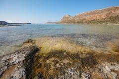 Balos beach in Gramvousa Peninsula. Crete. Greece Royalty Free Stock Image