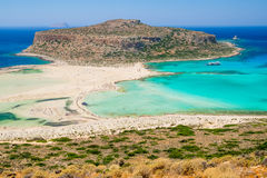 Balos beach lagoon, Greece Stock Photo