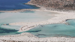 Balos beach Stock Photo