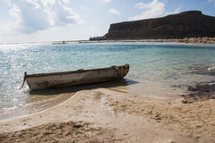 Balos Beach and Lagoon Royalty Free Stock Photos