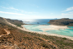 Balos beach Royalty Free Stock Images