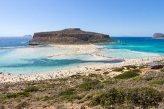 Balos beach. Stock Photo
