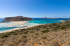 Balos beach. Royalty Free Stock Images