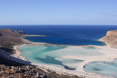 Balos beach  Royalty Free Stock Images