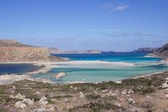 Balos beach  Stock Image