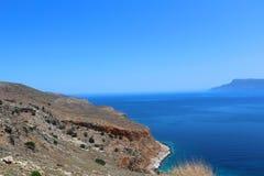 Balos-Bucht auf der Insel von Kreta, Griechenland lizenzfreies stockbild