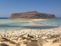 Balos, Creta fotos de stock royalty free
