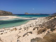Balos Crete Royalty Free Stock Images