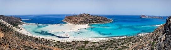 Balos, Crete, Grecja Zdjęcia Royalty Free