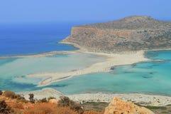 Balos crete greece Stock Photography