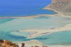 Balos crete greece Stock Photos