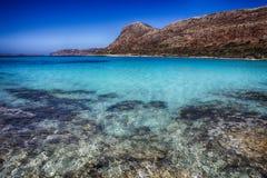 balos Crete wyspy laguny seascape Zdjęcie Stock