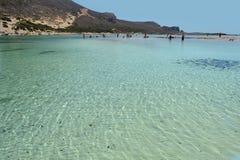 Balos en Crete, Grecia fotografía de archivo