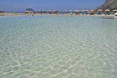 Balos en Crete, Grecia imagen de archivo libre de regalías