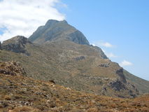 Balos-Halbinsel auf Kreta-Insel, Griechenland Lizenzfreies Stockfoto