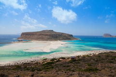 Balos island, Crete, Greece Stock Photos