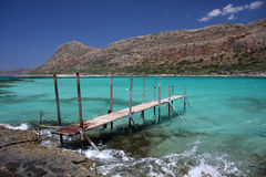 Balos lagoon Royalty Free Stock Photography