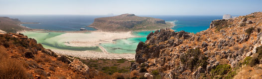 Balos Lagoon Royalty Free Stock Photo