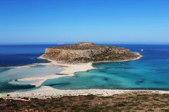 Balos Lagoon Royalty Free Stock Images