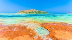 Balos Lagoon beach Royalty Free Stock Image