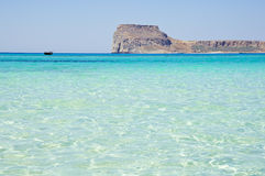 Balos lagoon of Crete, Greece Stock Images