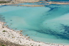 Balos Lagoon In Crete, Greece Stock Photo