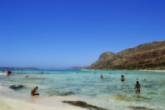 Balos Lagoon in Crete, Greece Royalty Free Stock Photo