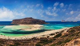 Balos lagoon Crete Stock Photography