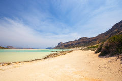 Balos Lagoon, Crete Royalty Free Stock Images