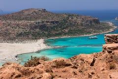 Balos laguna na Crete Zdjęcie Stock
