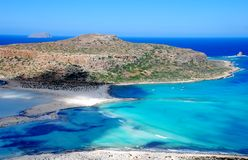 Balos-Strand Kreta Lizenzfreie Stockbilder