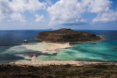 Balos strand och lagun Royaltyfri Foto