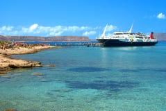 balos trzymać na dystans Crete wyspa Greece Zdjęcie Royalty Free