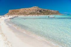 balos wyrzucać na brzeg Crete zdjęcia royalty free