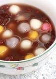 balowa bobowa chińska deserowa czerwona ryżowa polewka Obrazy Royalty Free